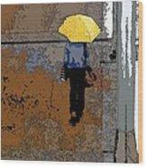 Rainy Days And Mondays Wood Print by David Bearden