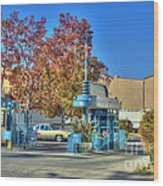 Raleigh Studios Hollywood Ca Film Production Stages Wood Print