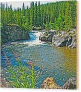 Rancheria Falls-yt Wood Print