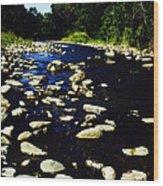 Rapidan River Wood Print