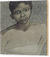Ravenet, Juan 1766. Portrait Of A Black Wood Print