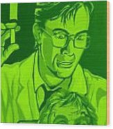 Re-animator Wood Print by Gary Niles
