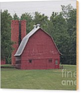 barn in Kentucky no 9 Wood Print