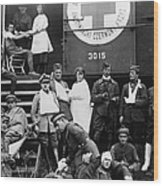Red Cross, C1918 Wood Print