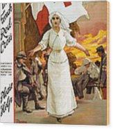 Red Cross Poster, 1915 Wood Print