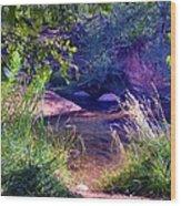 Red Rock Crossing Sedona Az Wood Print