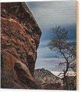Red Rocks 2 Wood Print