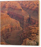 Grand Canyon From Kanab Point Wood Print