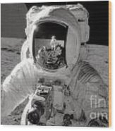 Reflecting Wood Print