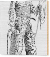 Remington Cowboy, 1887 Wood Print