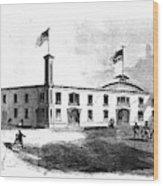 Republican Convention, 1860 Wood Print