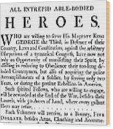 Revolutionary War Poster Wood Print