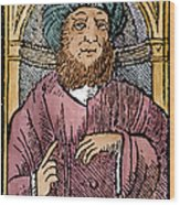 Rhazes (850-923) Wood Print