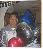 Ricardo Celebrating His High School Graduation Eloy Arizona 2002 Wood Print