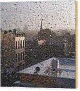 Ridgewood Wet With Rain Wood Print