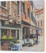 Ristorante Al Covo Impasto Wood Print