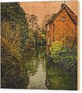 River Kennet Wood Print