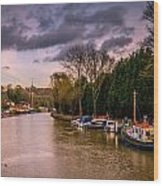 River Medway Wood Print