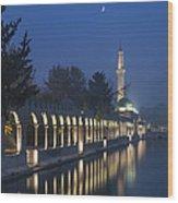 Rizvaniye Mosque And Halil-u Rahman Wood Print