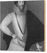 Robert Devereux (1566-1601) Wood Print