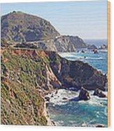 Rocky Creek Bridge Wood Print
