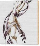 Rohesia Dancer Wood Print