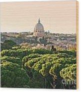 Rome - Italy Wood Print
