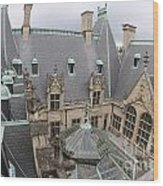 Roof Of Biltmore Estate Wood Print