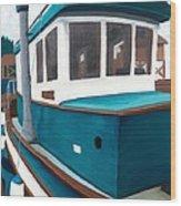 Rosa Mae Wood Print
