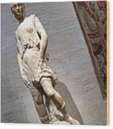 Rossellino's The David Of The Casa Martelli Wood Print