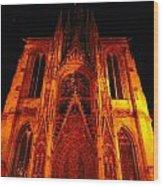 Rouen Church Wood Print