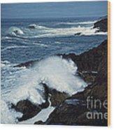 Rough Surf Wood Print