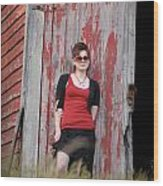 Roxanne Lautrec Wood Print