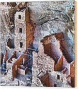 Ruins Wood Print