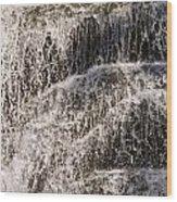 Running Water Wood Print