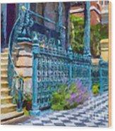 Rutledge House Inn Wood Print