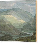 Rydal Water Wood Print