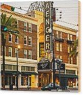 Saenger Theatre New Orleans Paint 2 Wood Print