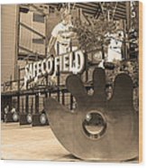 Safeco Field - Seattle Mariners Wood Print
