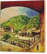 Saidpur Village Wood Print