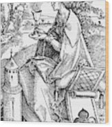 Saint Barbara (c200 Wood Print