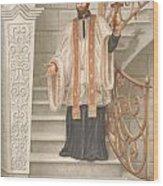 Saint Francis Xavier Wood Print by John Alan  Warford
