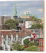 Saint John New Brunswick Wood Print