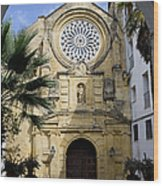 Saint Paul Church In Cordoba Wood Print