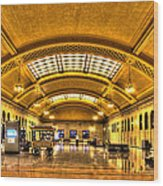 Saint Paul Union Depot Wood Print