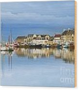 Saint-vaast-la-hougue Normandy France Wood Print