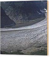 Salmon Glacier Wood Print