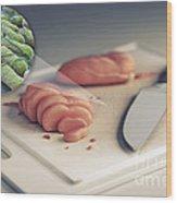 Salmonella Contamination Wood Print