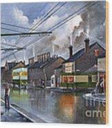 Salop Street Dudley C 1950 Wood Print
