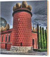 Salvador Dali Museum Wood Print